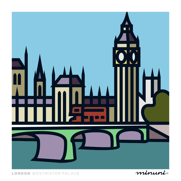 London Westmister Palace Art Print