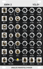 AWM-3 - Analog Wavefold Mixer