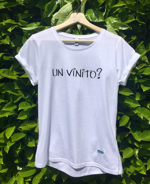 Short Sleeve T-Shirt ~ Un Vinito? ~