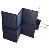 120W 12V Black Silicon Folding Solar Panel Kit - Mobile Solar Pro