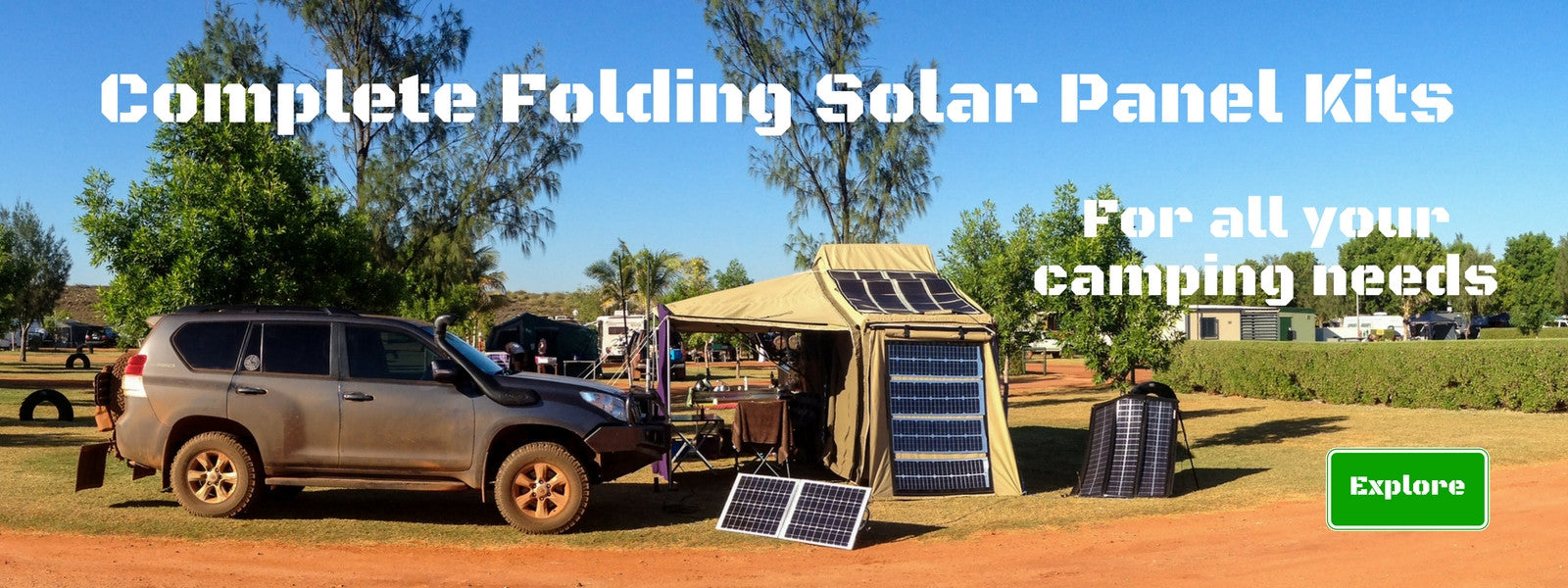 Folding Solar Panel Kits - Mobile Solar Pro