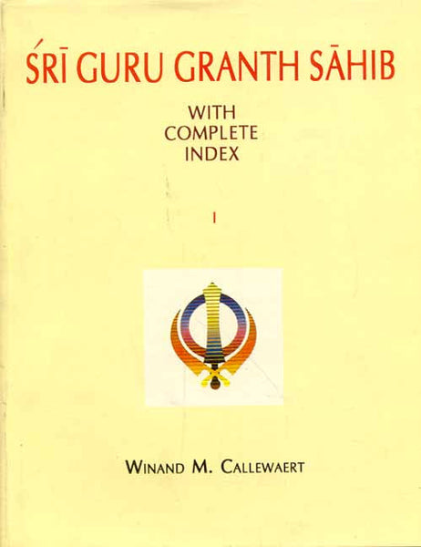 Sri Guru Granth Sahib (2 Pts.): With Complete Index