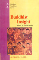 Buddhist Insight: Essays By Alex Wayman