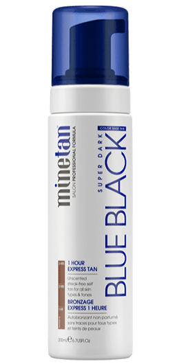 MineTan Blue Black Self Tanning Foam