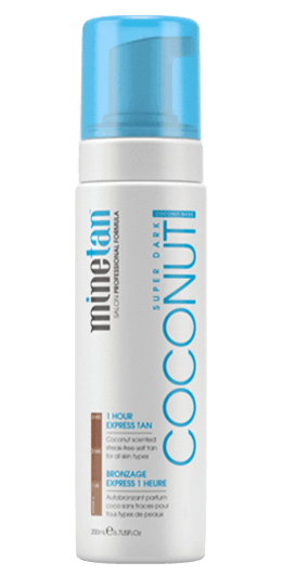 MineTan Coconut Self Tanning Foam