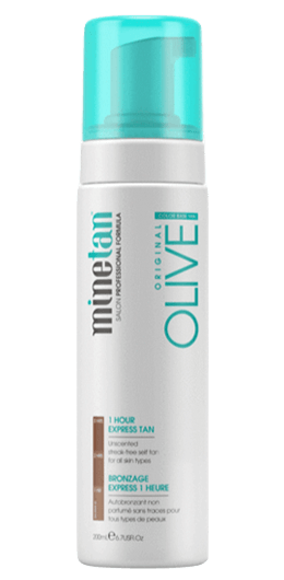 MineTan Original Olive Self Tanning Foam