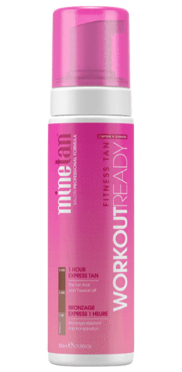 MineTan Fitness Workout Ready Self Tanning Foam