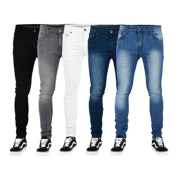 Best Fitting Skin, Tapered, Relaxed, Loose, Narrow Loose Jeans for Men