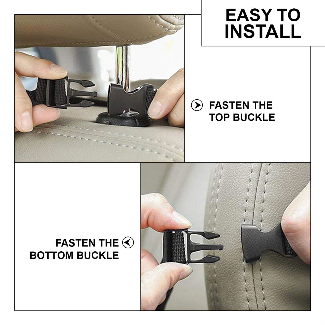 Car Organizers Waterproof Seat Back Protectors with iPad Holder
