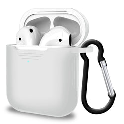 2 in 1 Apple Airpods Silicone Case Earphones Charging Skin Cover Clear-Case / Cover-TradeNRG UK
