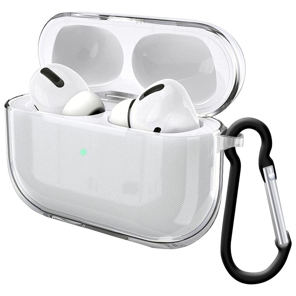 3rd Gen 2019 Airpods Pro Case Shock LED Carabiner & Scratch Resistant, Audio Accessories by TradeNRG