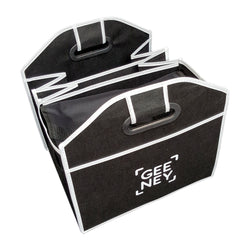 Car Boot Organiser with Easy Fold and Storage By Brand Geeney - Black-Car Boot Organisers-TradeNRG UK