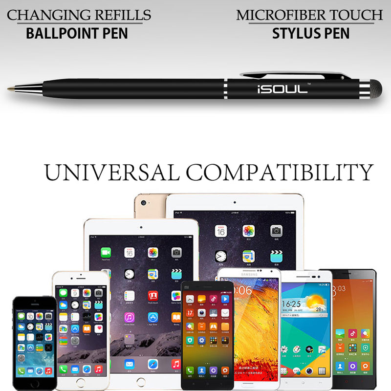 3x Universal Touch Screen Stylus Ball Pens For All Mobile Phone Tab Tablet