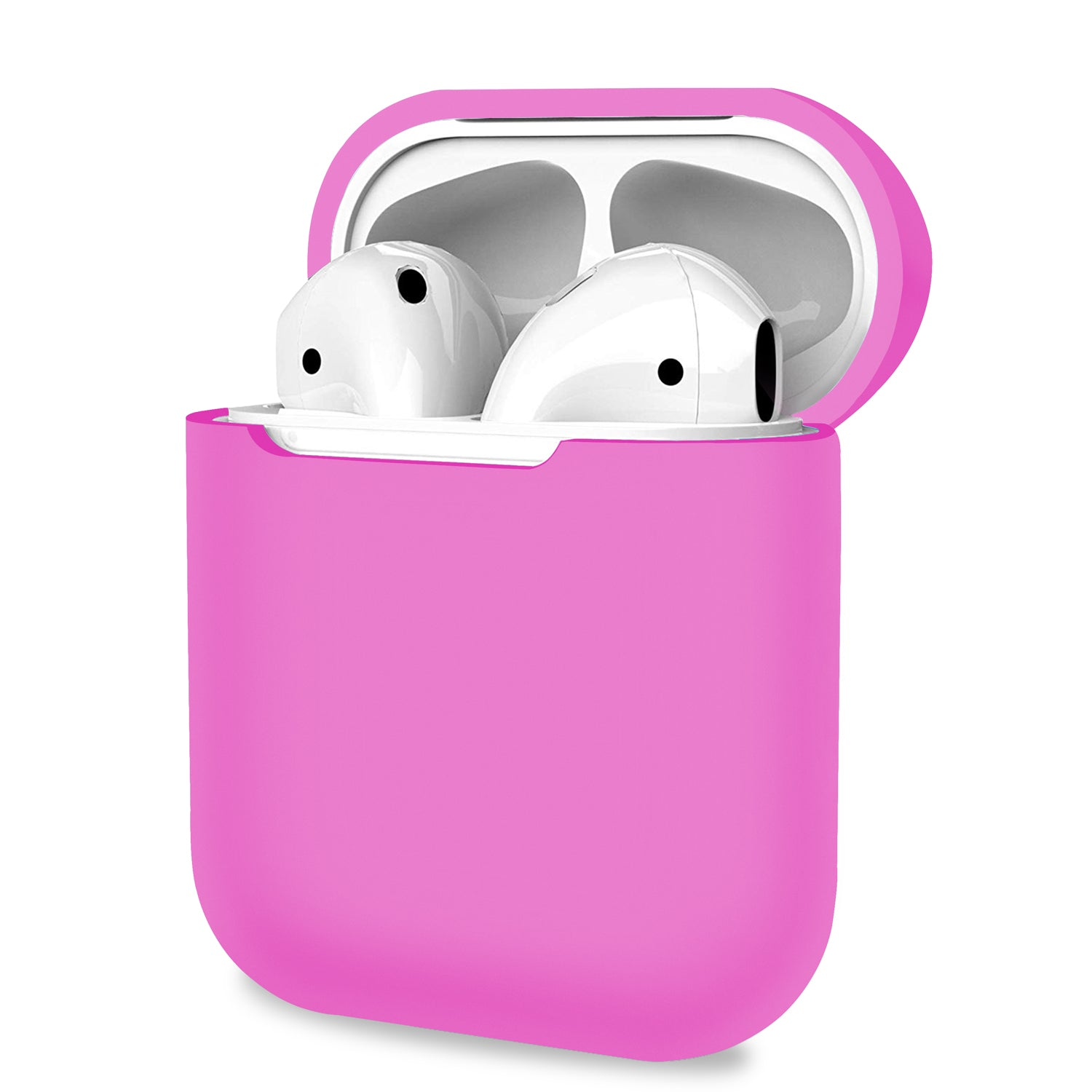 AirPods 1 2 Case Cover Skin Earphone Charge Silicone Case - Pink, Audio Accessories by TradeNRG