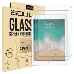 iSOUL iPad Mini Screen Protector 9H Hardness Screen Protector Glass Apple iPad Mini iPad Mini 2 iPad Mini 3 2.5D Round Edge 2 Pack - TradeNRG UK