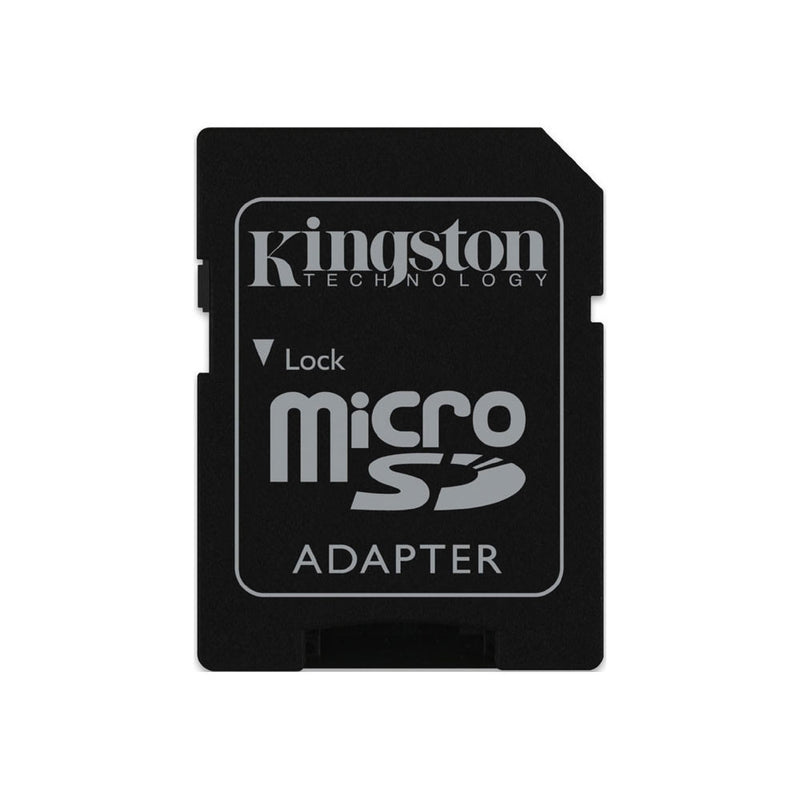 Kingston 16GB Class 4 Micro SD Card with SD Adapter UK_KNG 16GB+AD