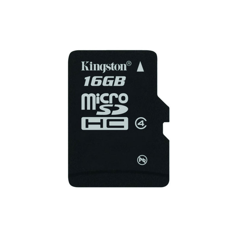 UK_KNG 16GB+AD Kingston 16Gb Class 4 Micro Sd Card