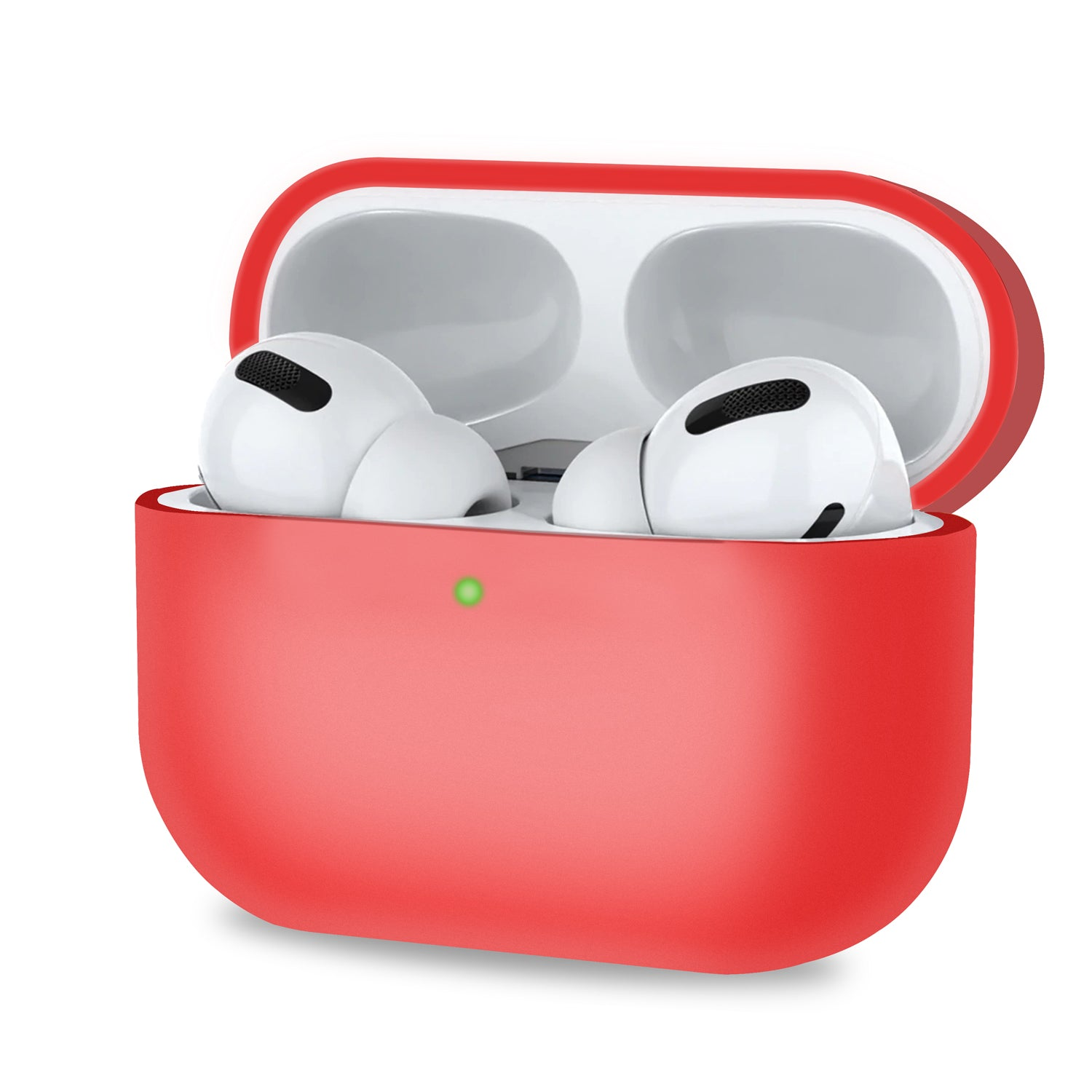 Red Silicone Shockproof Anti- Scratch Ultra-Thin Case for Airpods Pro, Audio Accessories by TradeNRG