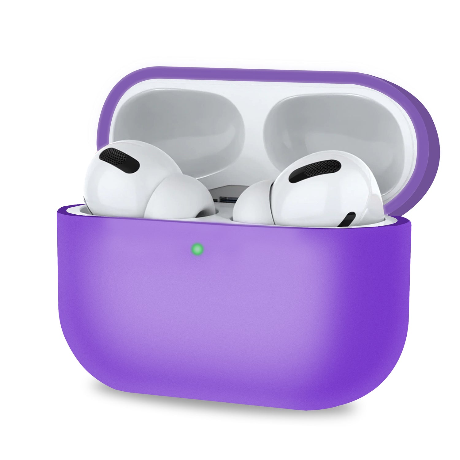 Purple Case for AirPods Pro 3rd Gen 2019 Apple Airpod 3 Charging Case, Audio Accessories by TradeNRG