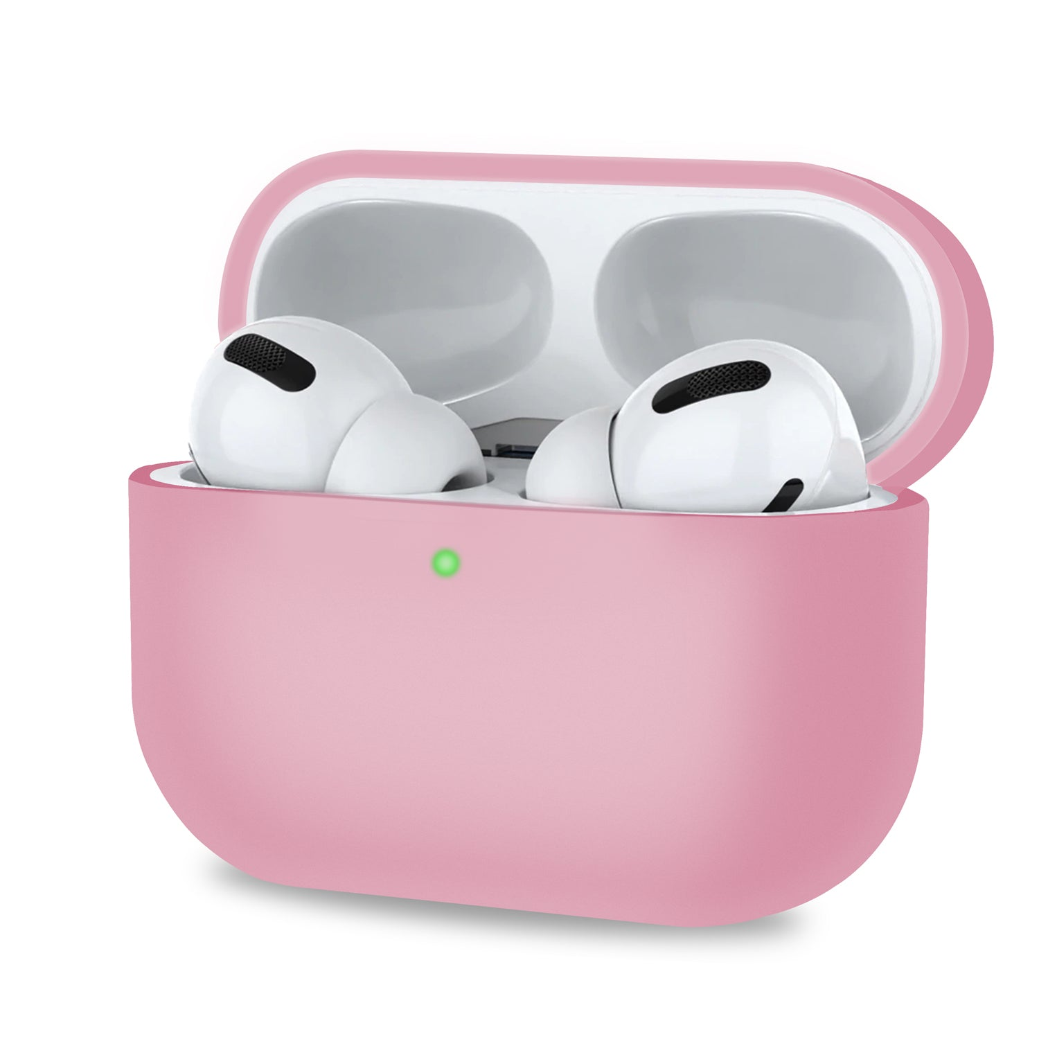 AirPods Pro Case Protective Matte Soft Silicone Case Cover Light Pink, Audio Accessories by TradeNRG