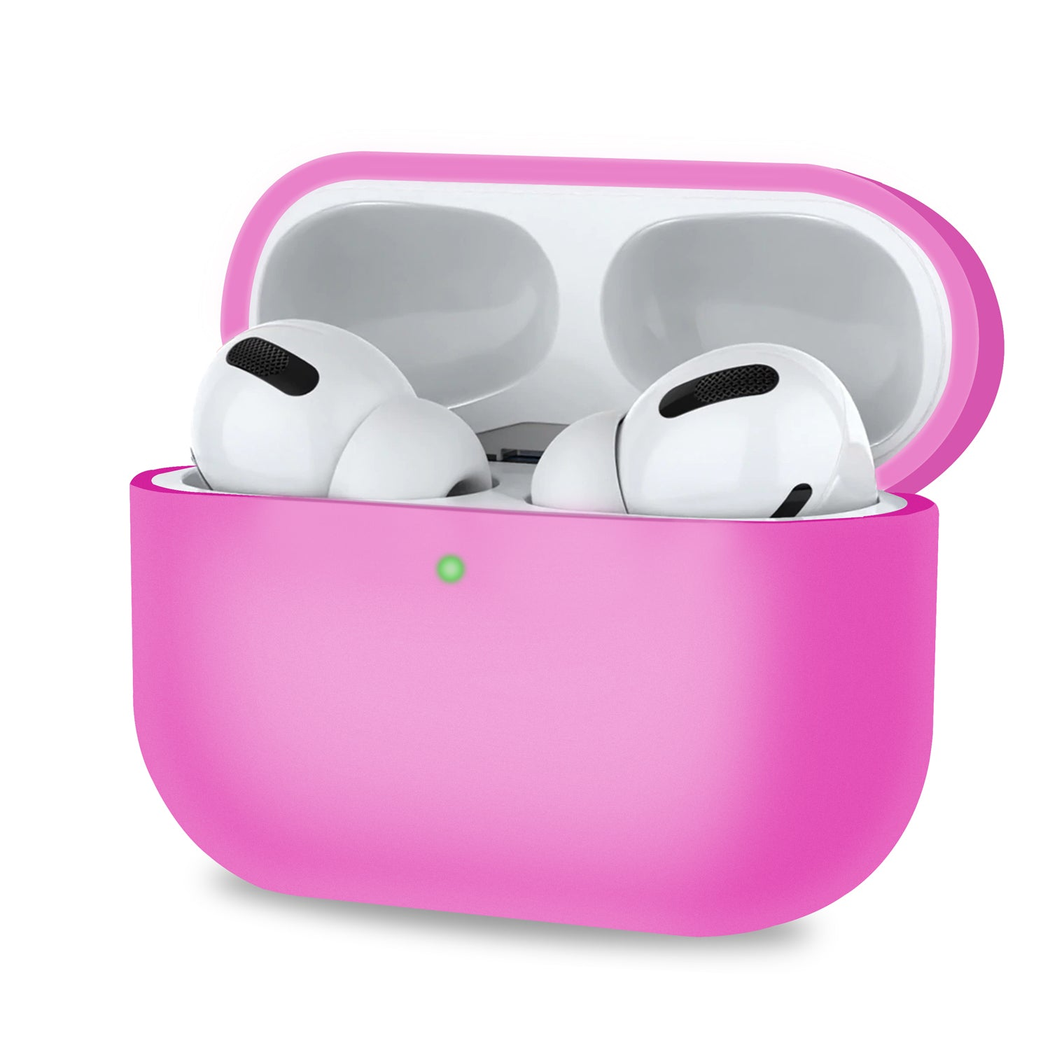 Pink Protective Case Compatible with LED Airpods Pro/Airpods 3 Case, Audio Accessories by TradeNRG