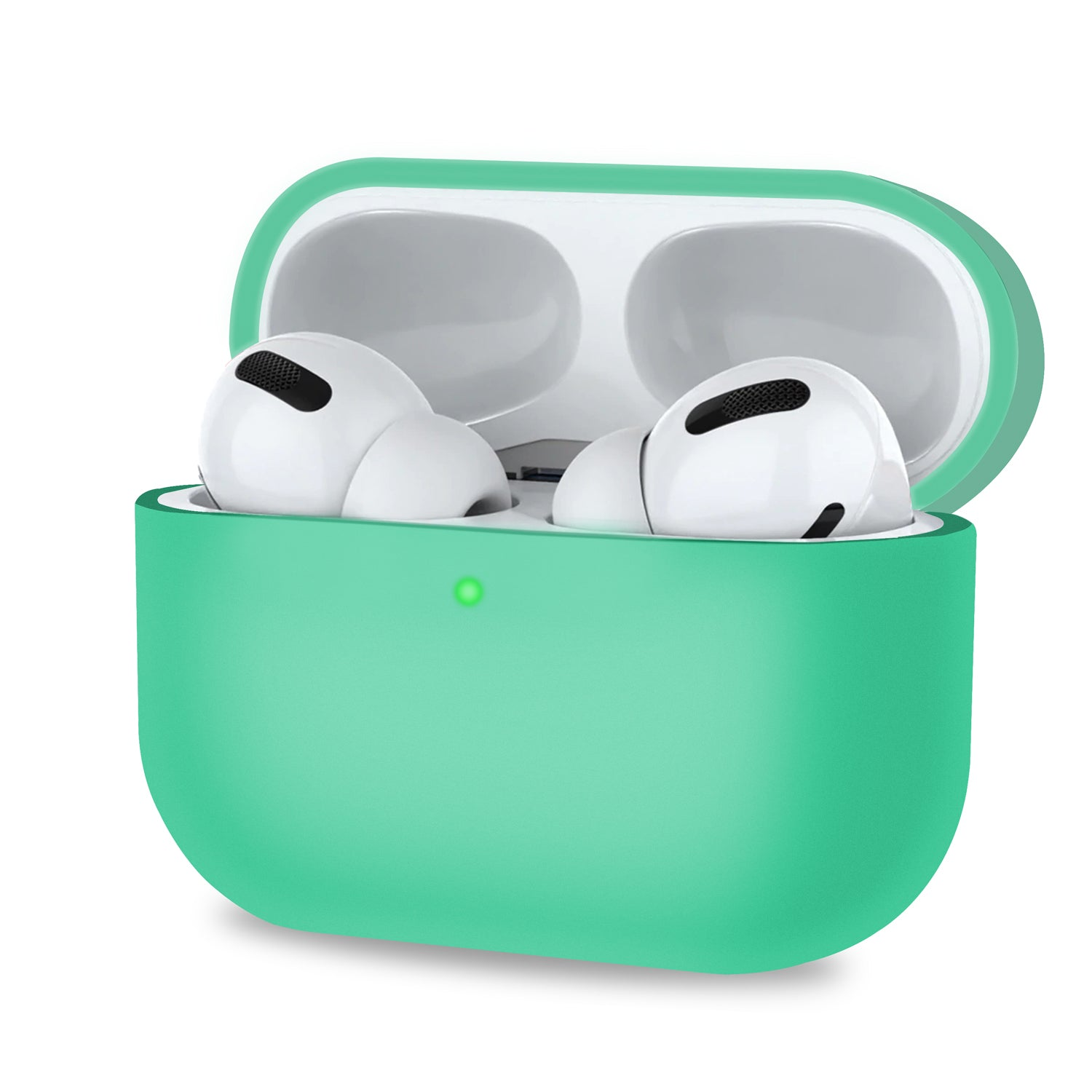 Green AirPods Pro Case Cover Silicone Skin Ultra Slim Holder AirPod 3, Audio Accessories by TradeNRG