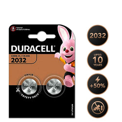 2x Duracell CR2032 Battery LITHIUM Coin Cell MN1500 DL2032 BR2032 3V