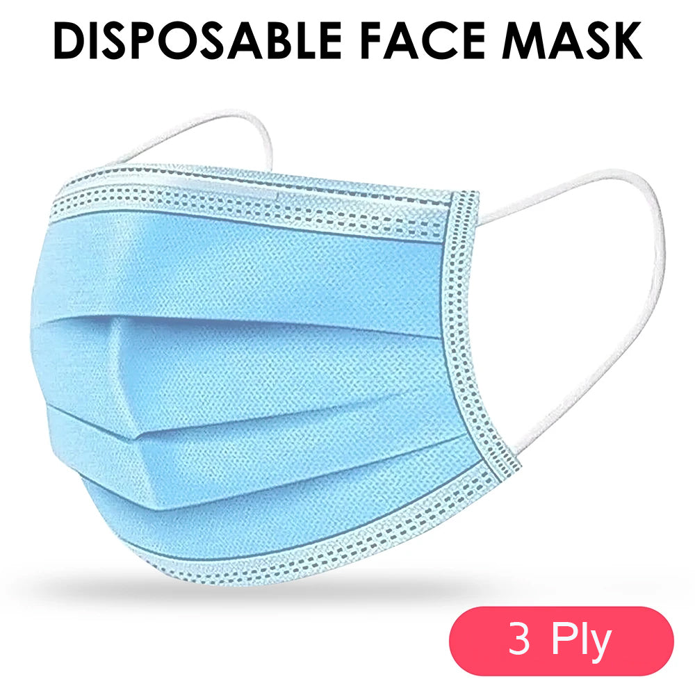 Disposable Surgical 3 Ply Medical Face Mask Skin Friendly CE FDA Approved by  TradeNRG