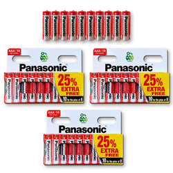 30X Panasonic Genuine AAA Batteries 1.5V LR03 MN2400 Battery AM R03