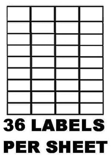 Labels | Self Adhesive Sticky A4 Address Labels | Inkjet Laser Copier Printer Peel