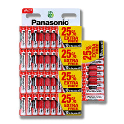 50x Genuine PANASONIC AA Battery Zinc LR6 1.5V MN1500 Longest Expiry
