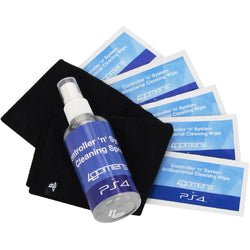 PS4 CLEANING KIT OFFICIALLY LICENSED CONTROLLER 'N' SYSTEM CLEANING KIT PLAYSTATION 4 PS4 4GAMERS - Cleaning kit - 4GAMERS	 - 1