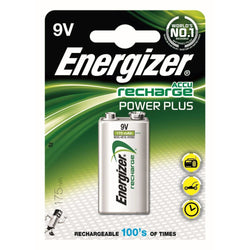 Energizer Advanced Chargeable Size 9V Battery