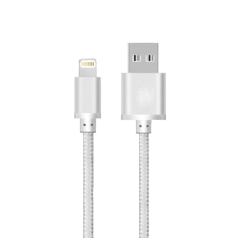 iPhone Lightning Cable Silver