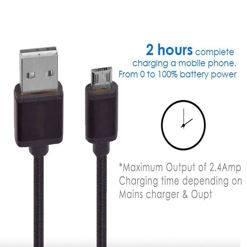 ReVeRsibLe USB 2.0 to Micro Data Sync Charge Cable Lead for Samsung HTC LG Sony - USB CABLE - ISOUL	 - 6