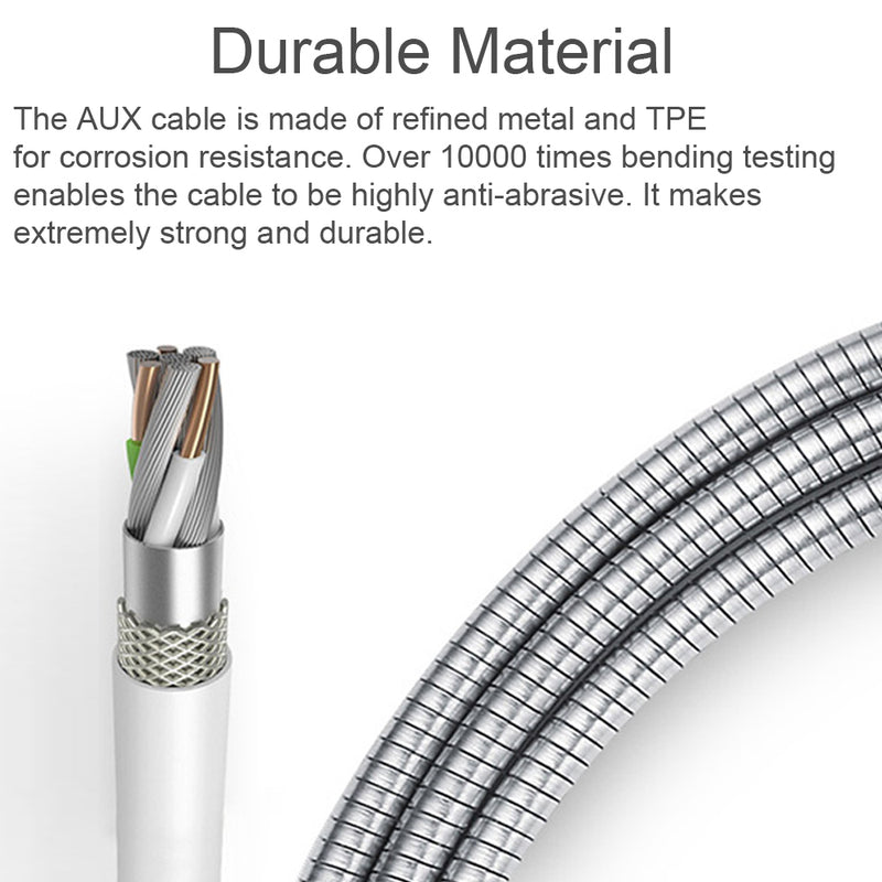 Aux Metal Cable For ipad