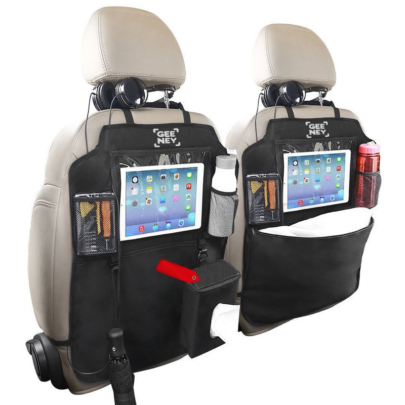 Car Back Seat Organiser handheld games, drink bottles, snacks, kid toys,