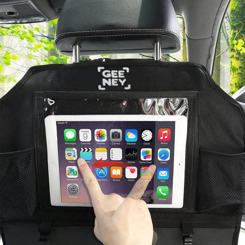 Waterproof material USE IN Car Back Seat Organiser can be stable and durable