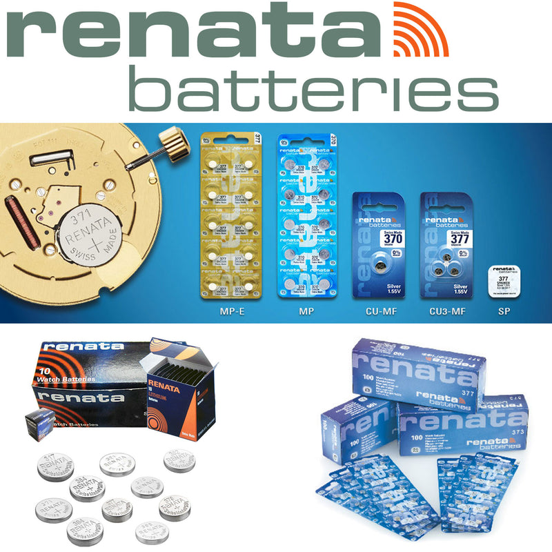 Rayovac & Renata Watch Battery Silver Oxide Coin Cell All Size & Pack-Battery-TradeNRG UK