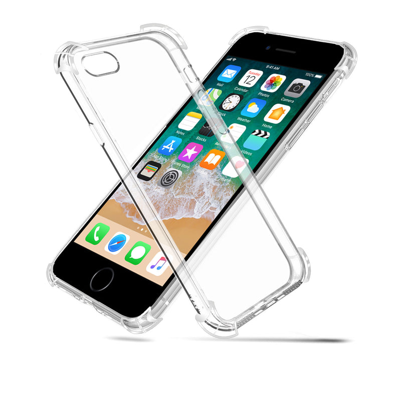 new styles 2050d d316a Iphone 6/6s plus Silicon Gel Air Cushion case Back cover - Transparent