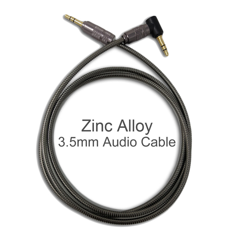 iSOUL 3.5 Jack Audio 1 Meter Aux Cable Black