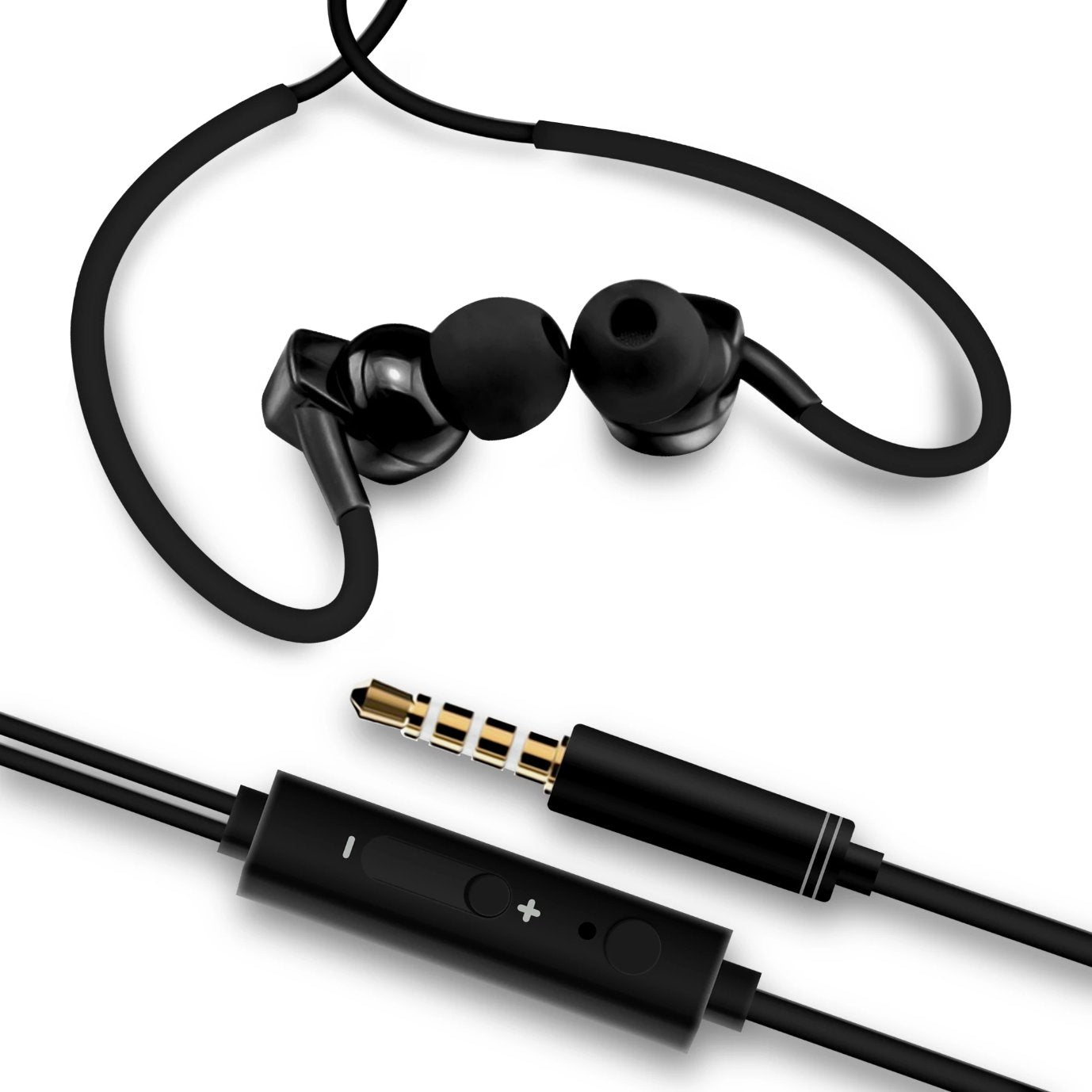iSoul iPhone Ear Canal Metal Earphones with pure Sound & Powerful Bass, Audio Accessories by TradeNRG