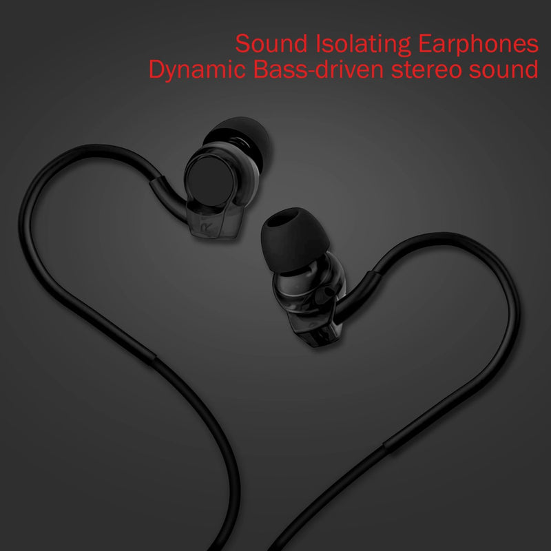 iSoul iPhone Ear Canal Metal Earphones with pure Sound & Powerful Bass-Earphones-TradeNRG UK