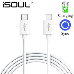 10x USB Type-C to USB-C 3.1 Sync Male to Male Charging Charger Cable-Cable-TradeNRG UK