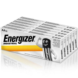 60x Energizer LR6 Industrial AA Alkaline Batteries Long Lasting MN1500-Battery-TradeNRG UK