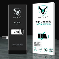 iPhone 6 Replacement Battery Full High Capacity Li-ion 2200mAh + Tools & Compatible Battery
