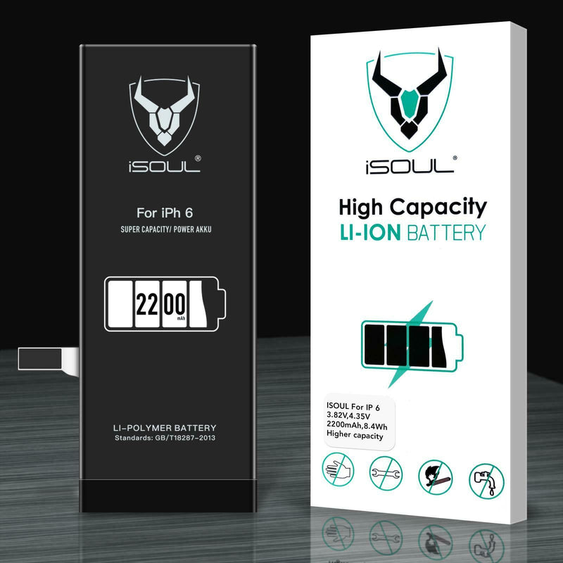 Apple iPhone 6 Replacement Battery High Capacity 2200 mAh With Tools-Battery-TradeNRG UK
