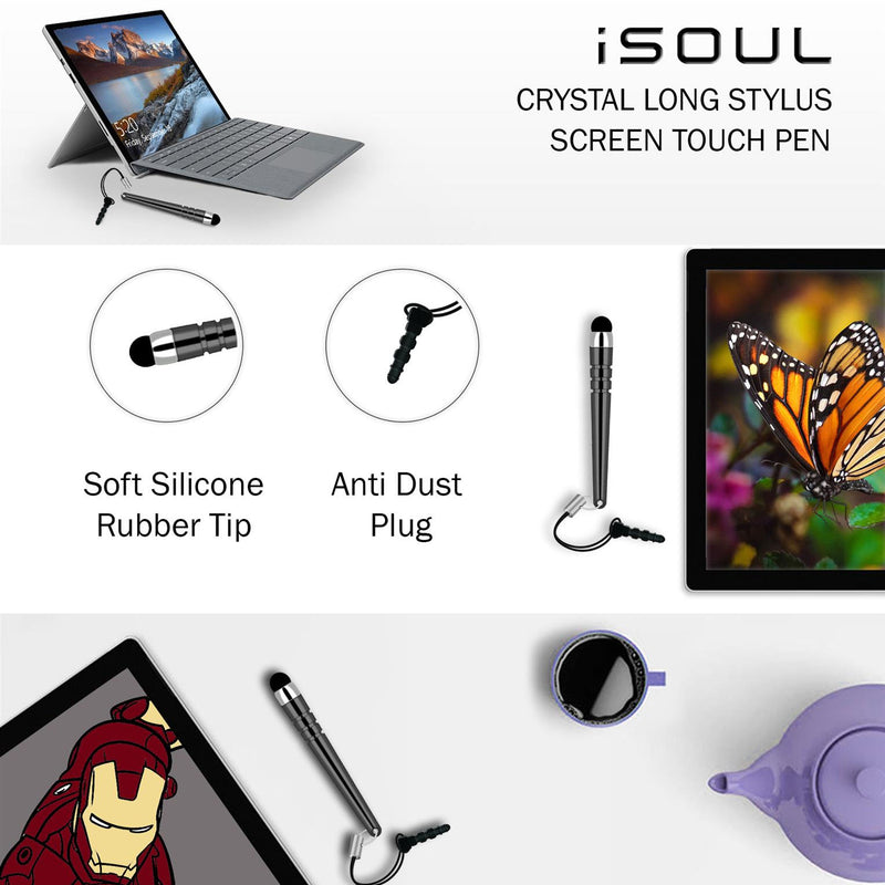 iSoul Stylus Touch Pen Universal Smartphones touch Screen Pen Pack of 5 - TradeNRG UK