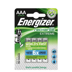 Energizer Accu Recharge 800Mah Aaa Extreme 1.2V Rechargeable Batteries