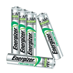 Energizer Battery AAA Accu Extreme 1.2V Rechargeable Batteries, 800Mah NiMH (Nickel-Metal Hydride) round cell Pre-charged. - TradeNRG UK